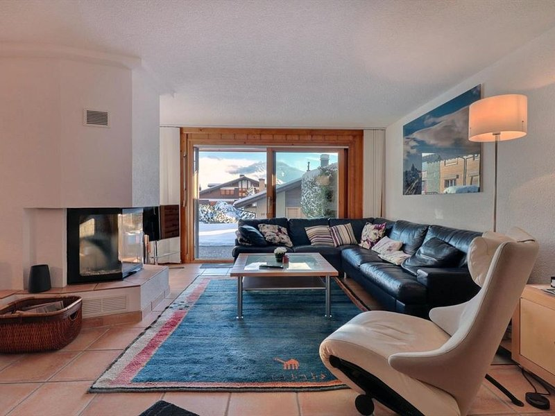 Beau appartement de 3 pièces idéalement situé au rez-de-chaussée d'un immeuble,, alquiler vacacional en Verbier