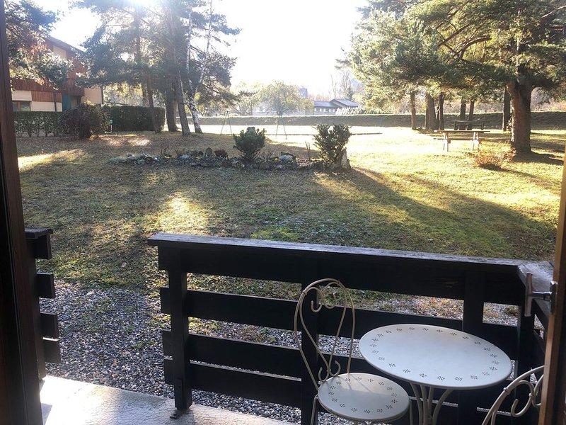 Studio 30m2 meublé refait à neuf à la lèchere, casa vacanza a Doucy