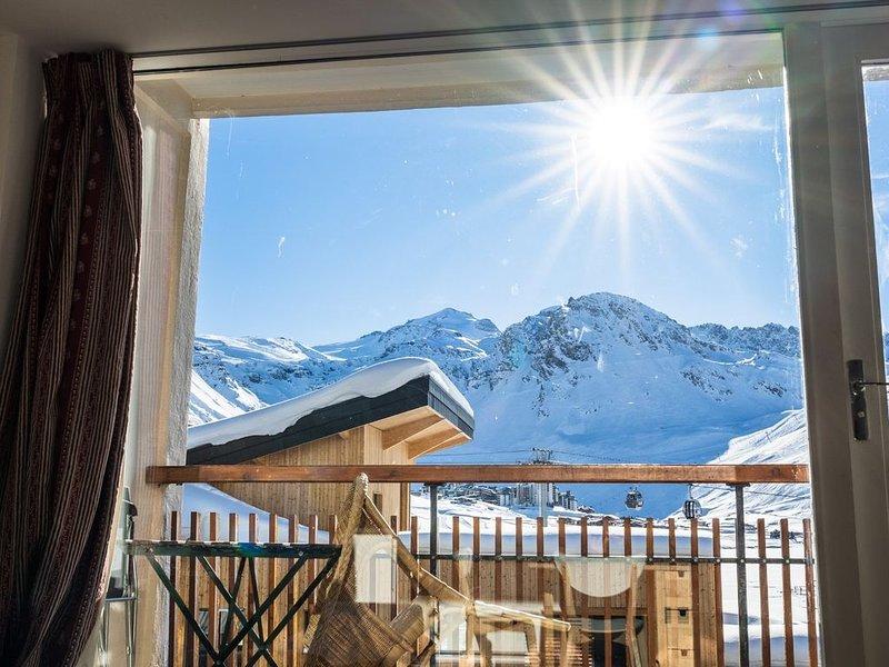 Loue appartement situé dans la Résidence les Hauts Lieux, holiday rental in Tignes
