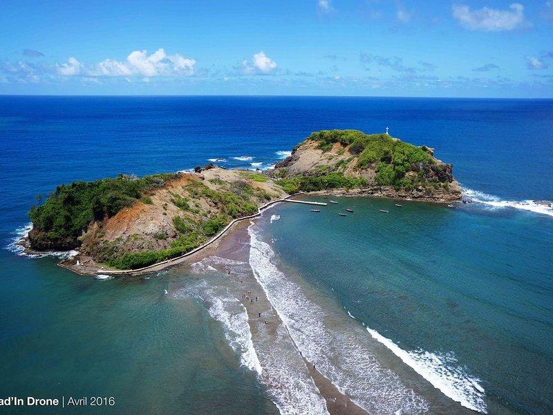 Véritable havre de paix ,  T3 lumineux et spacieux, holiday rental in Marigot