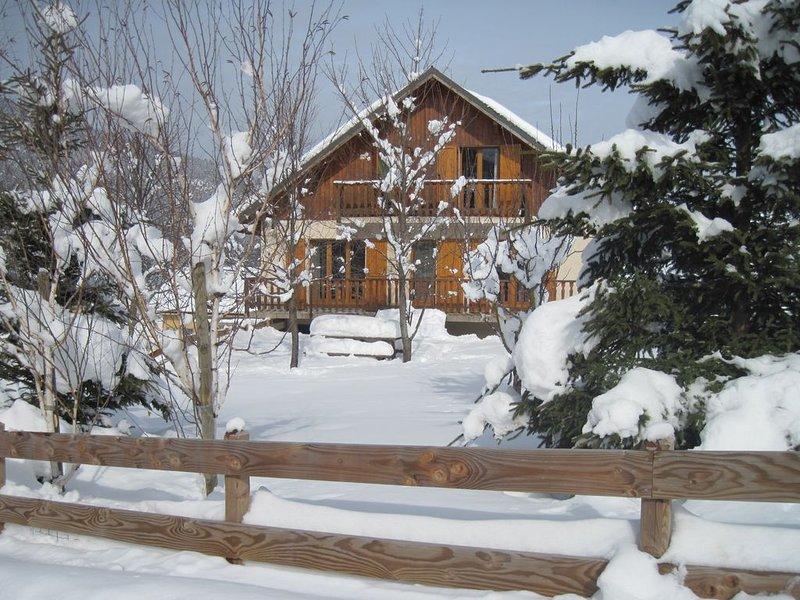 Chalet Classé 4*  spacieux , confortable et lumineux., location de vacances à Saint-Julien-en-Vercors