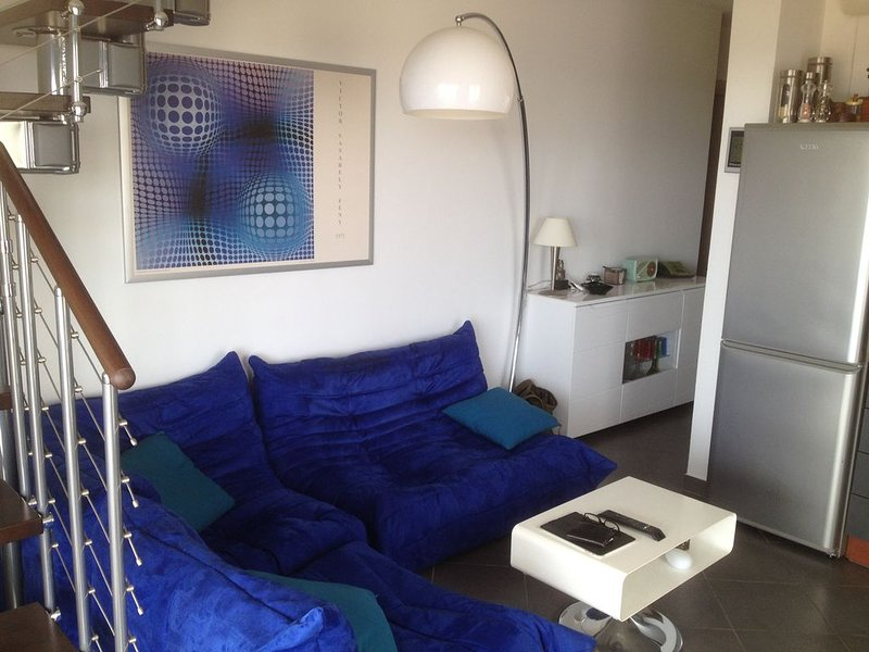 Duplex - Terrasse 16m2 - 2 chambres doubles, mer 1,5 km, proche montagne., location de vacances à Sorbo-Ocagnano