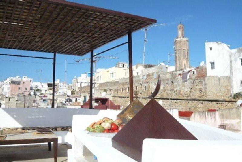 Petite maison de charme dans la médina authentique de Tanger., alquiler de vacaciones en Región de Tánger-Tetuán
