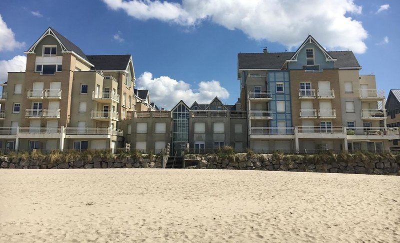 Berck Plage : Duplex , vue mer, 8 personnes, vacation rental in Berck