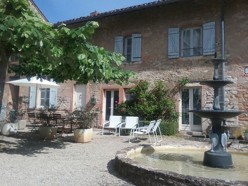 Maison de vacances 'le Fournil', holiday rental in Saint-Germain-du-Plain
