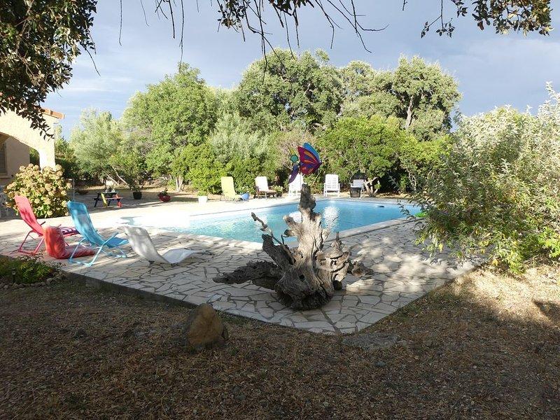 Nouveau �️  Très jolie villa à coté de la plage, terrain de 2750 m² �️☀️, alquiler de vacaciones en Solaro