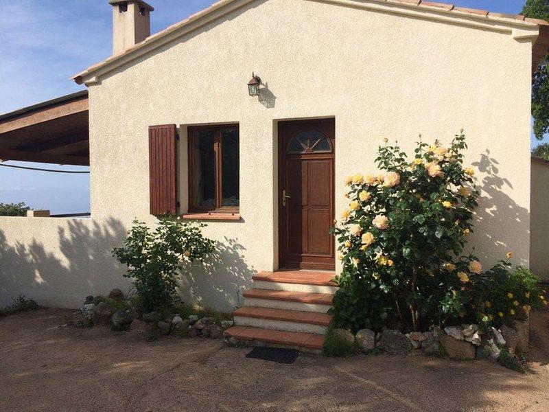 I SCOGLI BIANCHI - VILLA 50 M², holiday rental in Coti-Chiavari