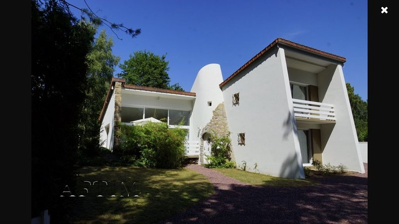 Belle maison d'architecte en forêt du Touquet, location de vacances à Le Touquet – Paris-Plage