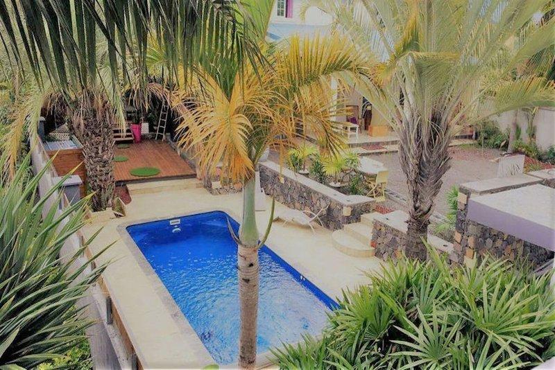 villa le coin de paradis, casa vacanza a Bois d'Olives