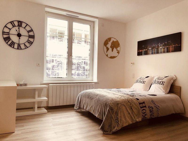 Beau Studio Proche de Nausicaa, holiday rental in Saint-Leonard