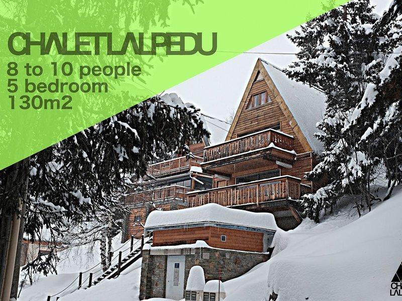 Magnifique chalet delta plein sud jusqu'à 10 personnes, vacation rental in L'Alpe-d'Huez
