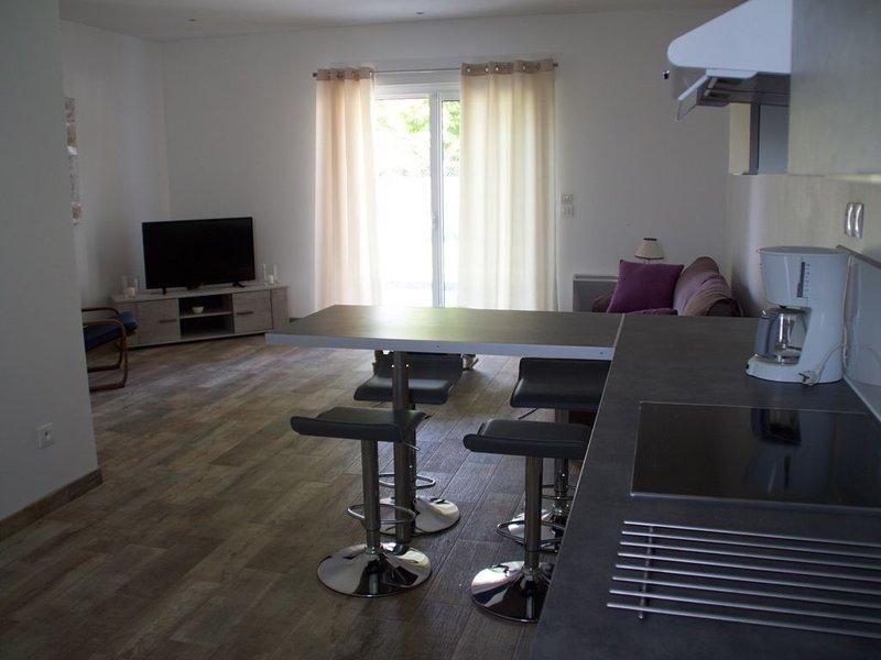 Charment appartement  T3 (2 chambres) jardinet et terrasse, location de vacances à Fouras