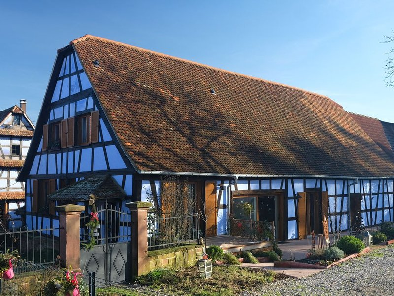 Le Clos Bleu - Gîte rural, holiday rental in Dambach