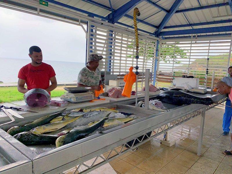 Mercado de pescado Baillargent