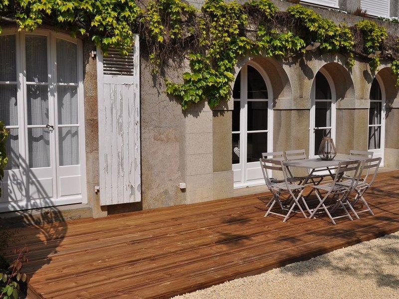 Au Rez de Jardin Cholet, location de vacances à Trémentines