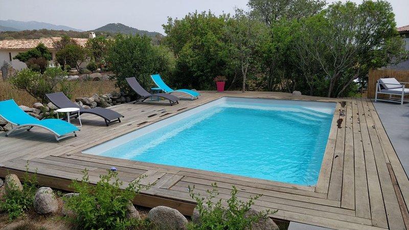 Villa neuve entre mer et montagne, vacation rental in Sotta