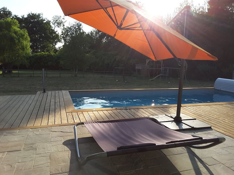 La campagne aux portes d'Angers, holiday rental in Grez Neuville