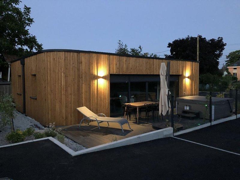 Maison à Turckheim avec jacuzzi, holiday rental in Walbach