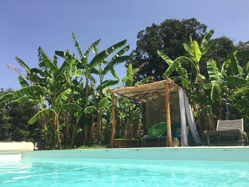 VILLA DE STANDING CLIMATISÉE , PISCINE CHAUFFÉE, PROCHE PLAGE, holiday rental in Cateri