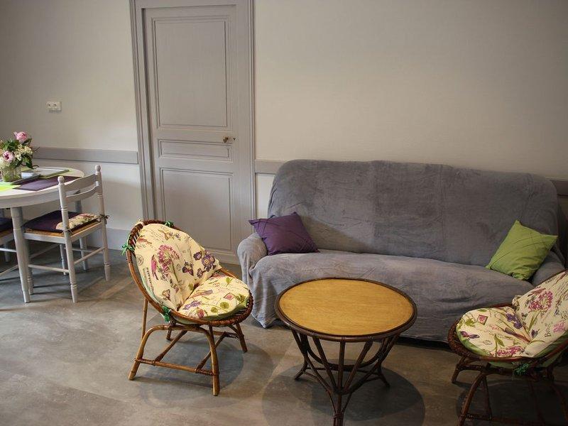 Gite de charme rénové à Larochepot dans les Hautes Cotes de Beaune en Bourgogne, holiday rental in Saint-Romain