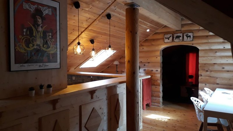 chalet cosy avec sauna, holiday rental in Les Angles