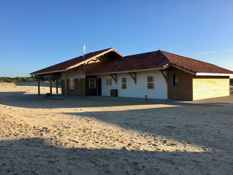 Villa sur dune à 100 m de la plage  - Classée 3*, alquiler de vacaciones en Vielle-Saint-Girons