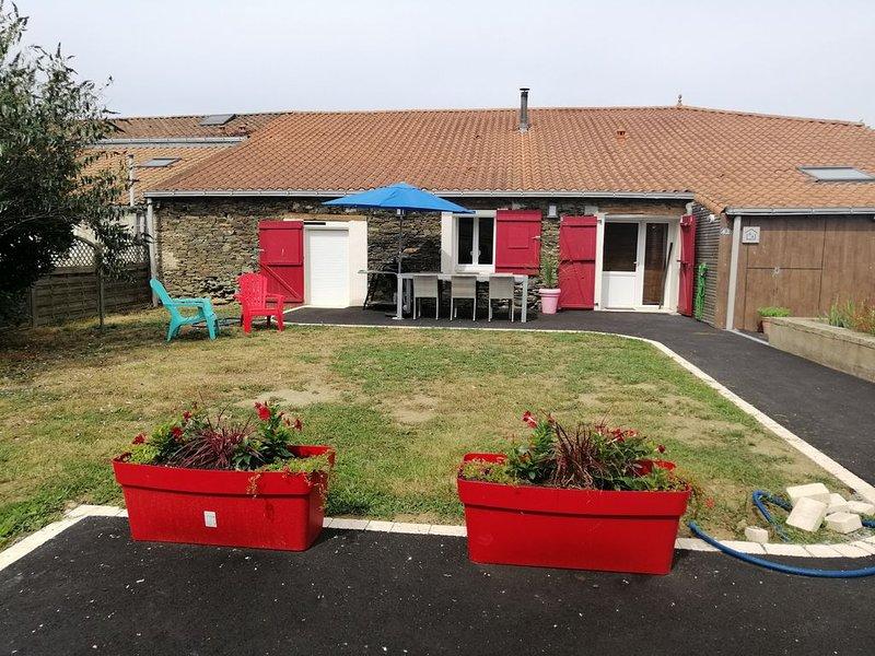 Gîte 6 personnes proche puy du fou, vacation rental in Saint-Florent-le-Vieil