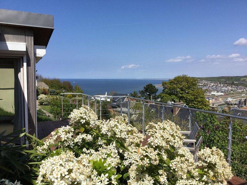 Villa avec magnifique vue sur mer et sur les falaises de Mers les Bains !, Ferienwohnung in Mesnil-Val