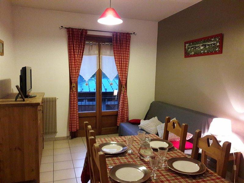 Appartement chaleureux au centre du village, location de vacances à Sixt-Fer-a-Cheval