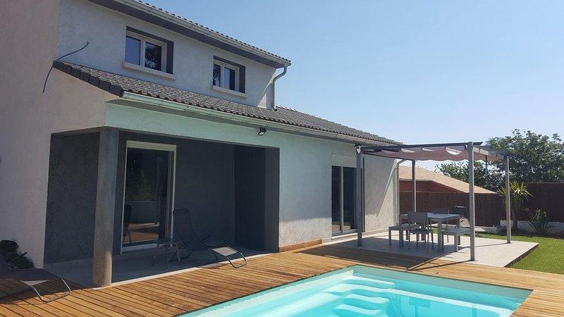 Villa lenza indépendant piscine privee, casa vacanza a Poggio-Mezzana