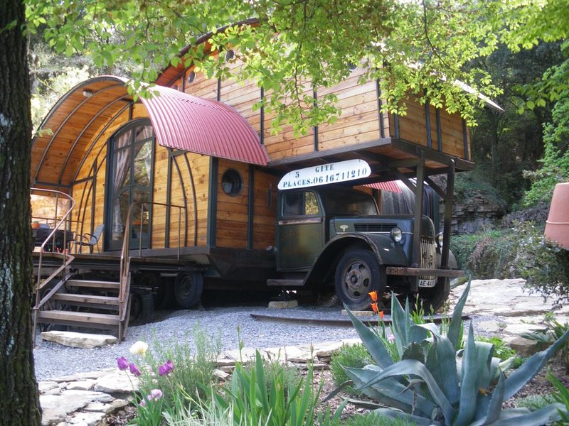tiny house 5 pers-----, vacation rental in Les Salelles