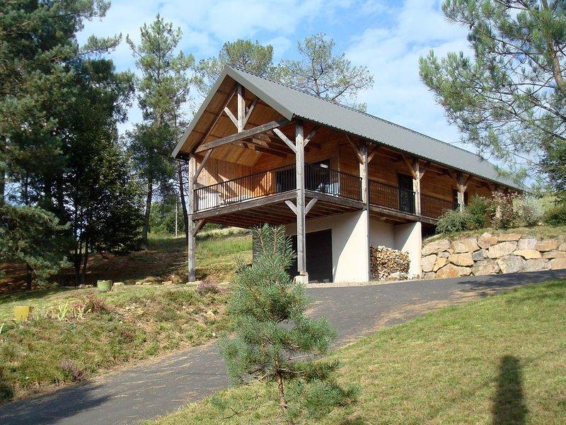 Un balcon sur le  Lac de Miel, holiday rental in Gros-Chastang