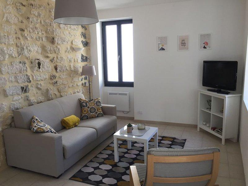 Appartement au coeur du village de caractère, holiday rental in Barjac