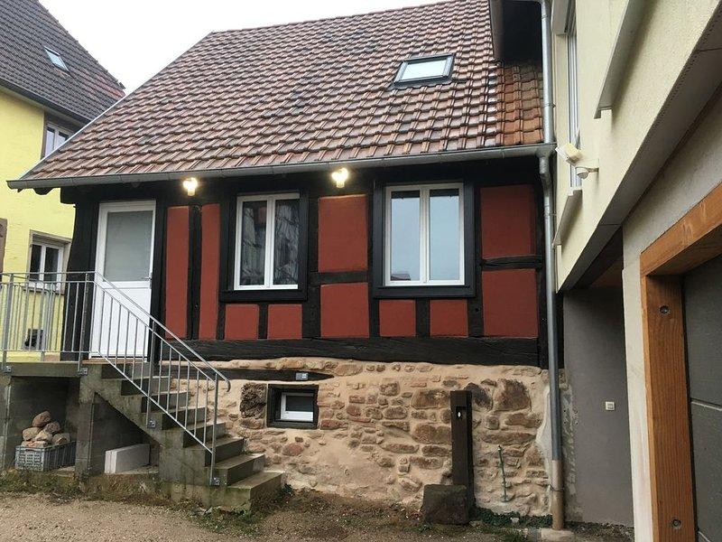 Spacieux gîte pour 6/8 personnes Centre Alsace, aluguéis de temporada em Epfig