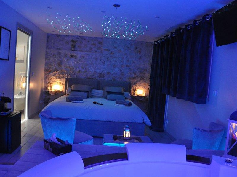 -Bergerie Romantique-, location de vacances à Gilette