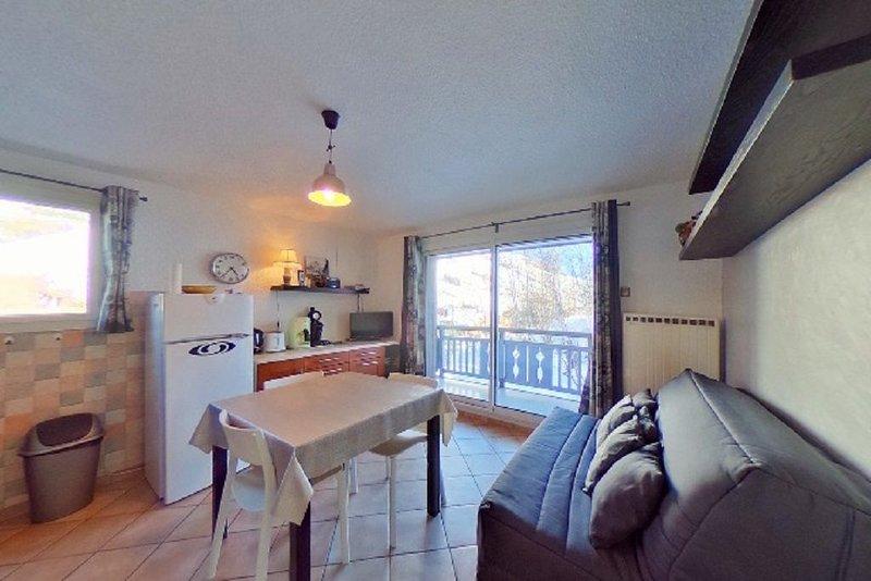 appartement 2 pièces  30 m2 centre station, alquiler vacacional en Mont-de-Lans