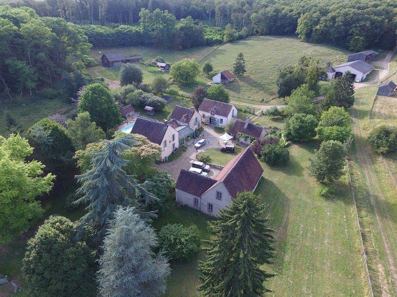 Gîte-rétro-Yonne à st Julien du Sault., holiday rental in Villiers-sur-Tholon