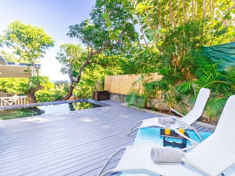 Albius  - jolie villa avec piscine proche du lagon à Saint-Leu, casa vacanza a Saint-Leu