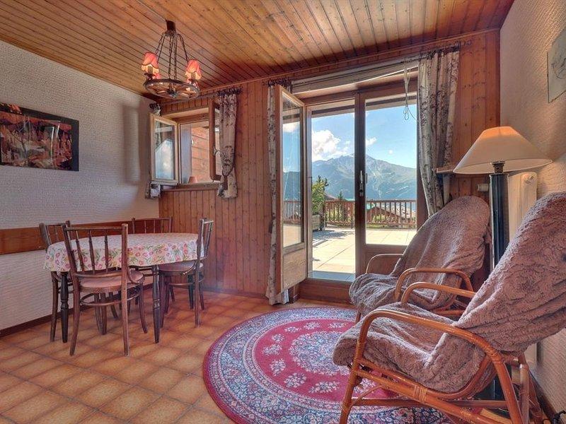 Joli appartement 2 pièces idéalement situé au premier étage d'un immeuble au cen, alquiler vacacional en Verbier