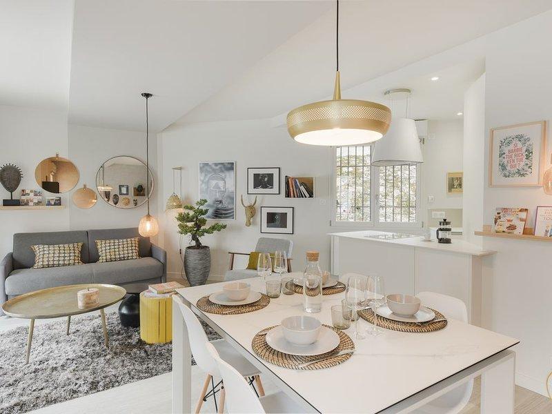 Bonzaï-Superbe logement avec parking, casa vacanza a Saint Herblain