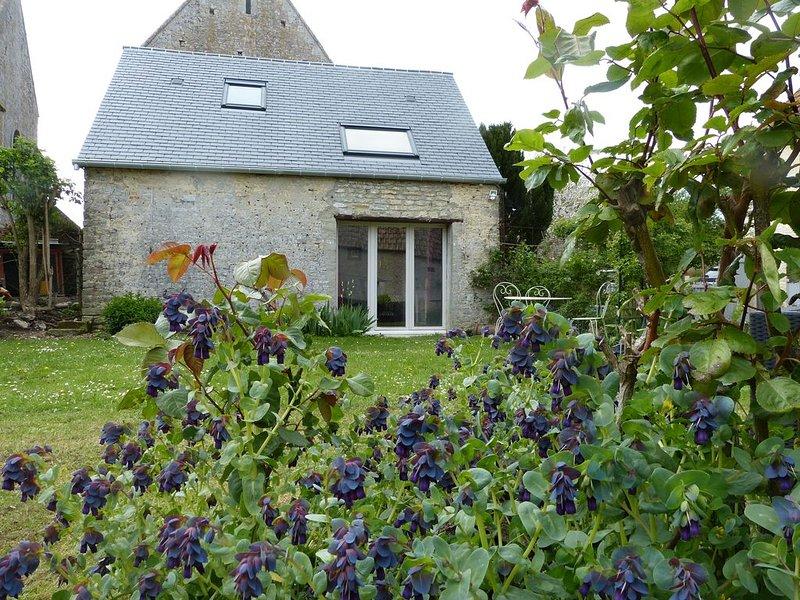 Chambre d'hôtes indépendante au coeur du village, aluguéis de temporada em Nonant