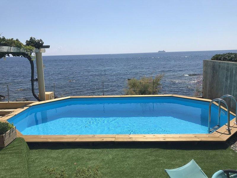 Villa sur mer - Miomo - Santa Maria du Lota - Cap Corse, vacation rental in Pietranera