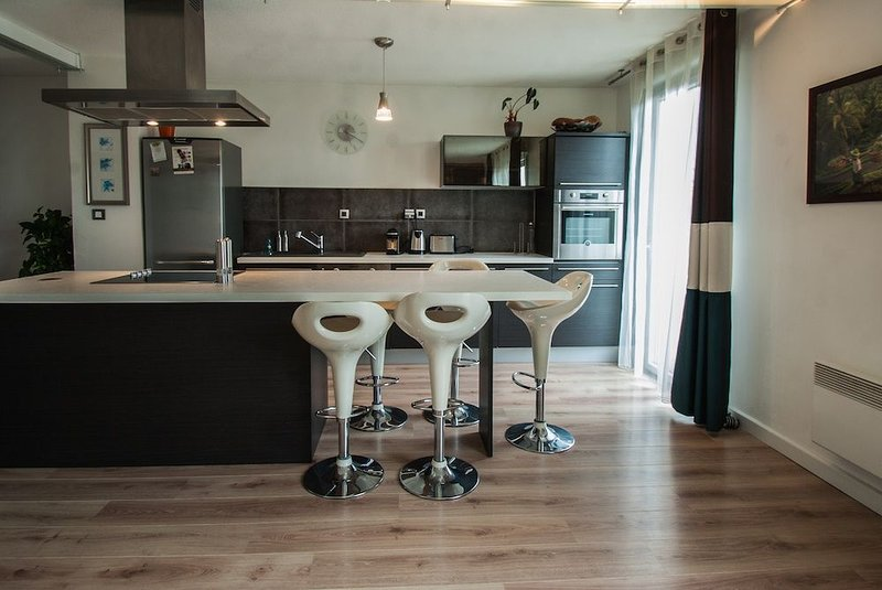 FLAMBERE - 80m2 - 2 chambres + parking + terrasse, vacation rental in Toulouse