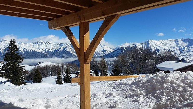 Chalet 'Les Aiguilles' 8 couchages - au pied des pistes - La Toussuire, location de vacances à Fontcouverte-la-Toussuire