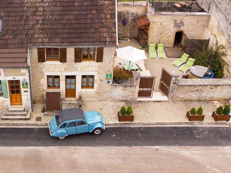 Les éco-gîtes de Rochetaillée, Gite n°1 ' MONTAGNE ', location de vacances à Recey-sur-Ource