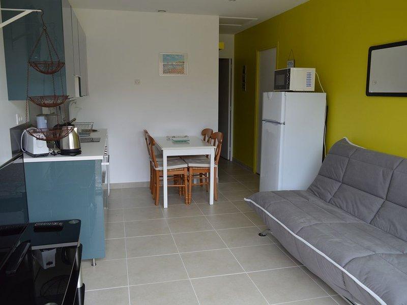 bel appartement de plain-pied, location de vacances à Labenne