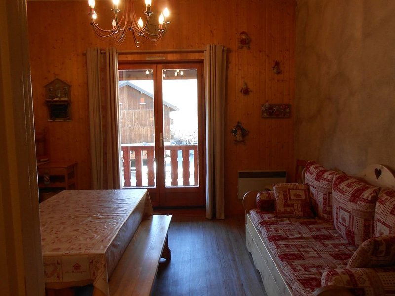 Appartement Valloire 6 Couchages, holiday rental in Valloire