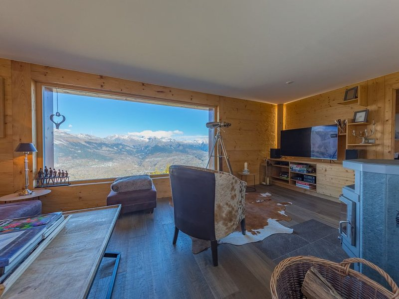 Chalet Riquet - ski-in/out - luxe, vacation rental in Nendaz