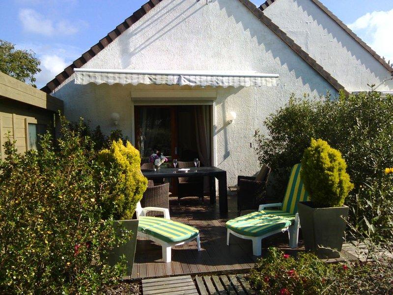 gite villa les Marmousets **** 2 pers 200m bord mer et centre ville grd ter jar, holiday rental in Neufchatel-Hardelot