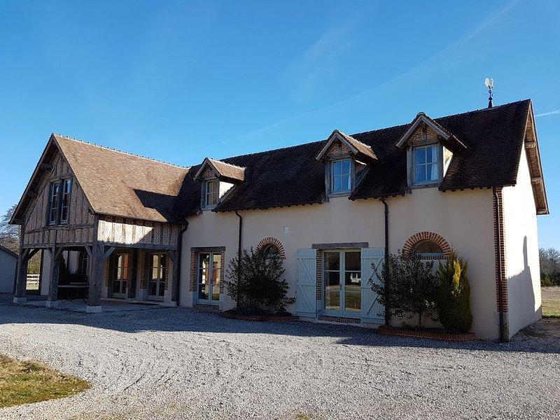 Domaine de La Varenne de Douy en Sologne, location de vacances à Neuvy-sur-Barangeon